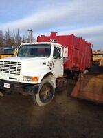 Garbage truck 1995 inter