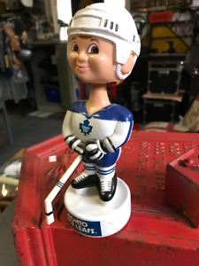 1989 SKORE TORONTO MAPLE LEAFS BOBBLEHEAD PLAYER