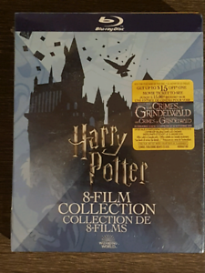 Brand New Sealed Harry Potter 8-film collection on BLU RAY
