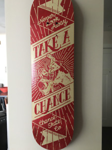 Chance Skateboard Deck - 8.25