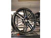 "22"" Audi Q7 Porsche Cayenne Vw Volkswagen Touareg alloy wheels alloys 5x130 bargain"