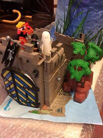 Playmobile Castle with Figures Horse & Ghost Collectable