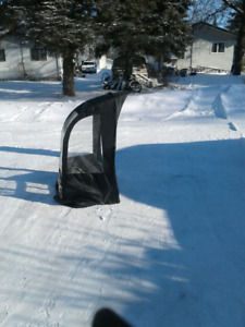 Snowblower shield