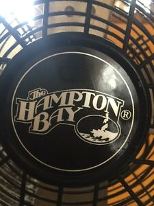"Hampton Bay 18"" Cooling Floor Fan Black Kitchener / Waterloo Kitchener Area image 2"