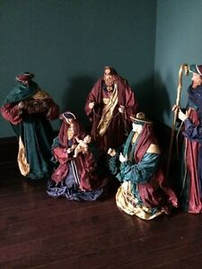 Commercial Nativity Set