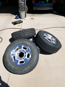 Stock Tires and Rims - BP 8x180