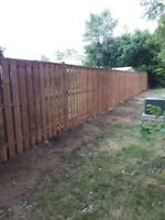 Last Minute Fence Repair