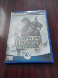 PlayStation 2 game Medal of Honour (Frontline )with memory card