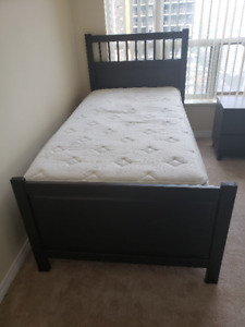 Ikea Hemnes Bedframe and Sears Mattress + Boxspring