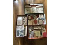 122 wooden block stamps for sale