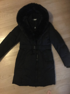 Manteau d'hiver XL noir Toboggan