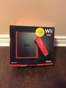 Nintendo Wii Mini (Red Edition) Includes games, Wii Fit & Guide