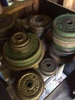 Free weights $1.00/ Lb