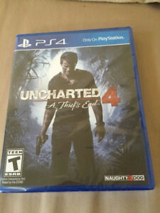 Uncharted 4 - Brand New - Sealed