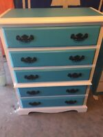 Beautiful refinished dresser !