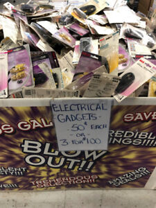 Electronic Gadgets-50cents each or 3 for $1..WOW!!!