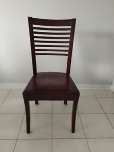 8 Solid Wood Chairs - Excellent Quality