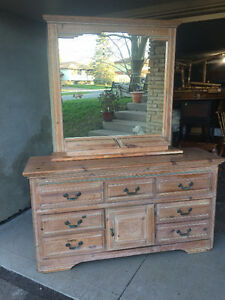 9 Drawer Dresser with Mirror