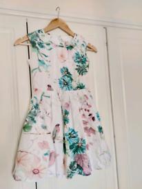 Next girls flower garden sleeveless dress 8y