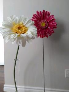 Fleurs décoratives pour chambre d'enfant