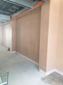 I am offering professional plastering services