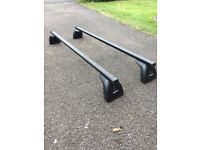 Thule Roof Bars for Ford Focus 2007 5 door Hatchback