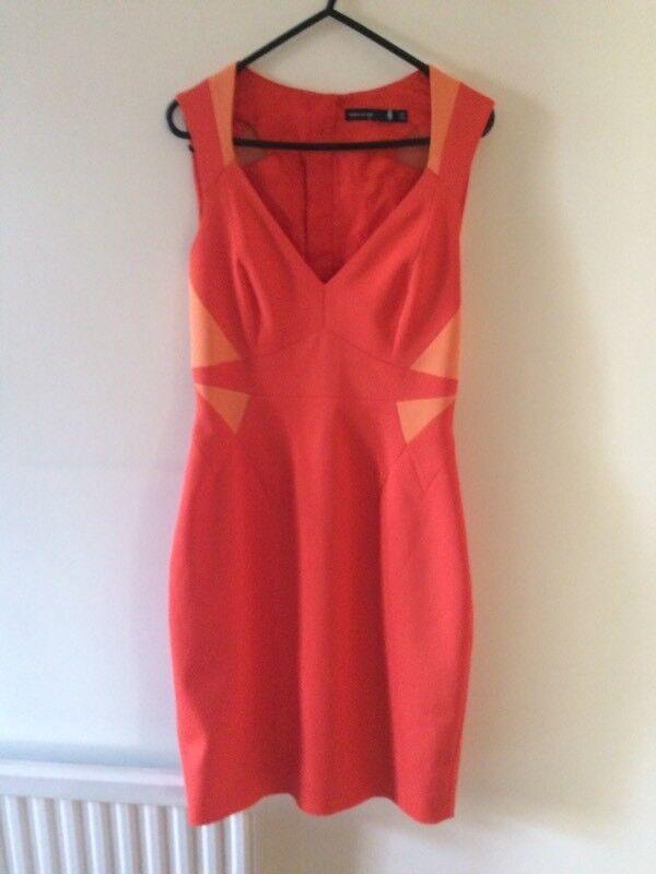 Orange Karen Millen Dress
