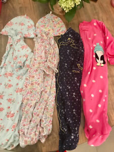 Girls sleepers baby onesies 9 months outfit