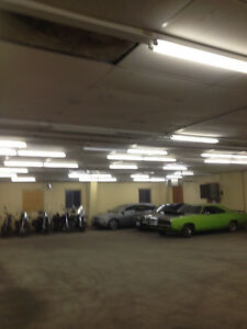 car, motorcycle and snowmobile storage