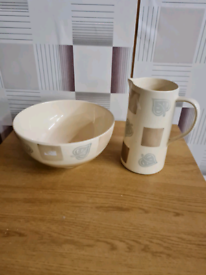 Jug and bowl in good condition