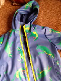 Childs waterproof coat.