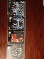PS3 rock band titles $15.00 for the lot