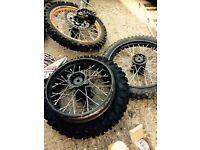Demon stomp mini moto parts lot