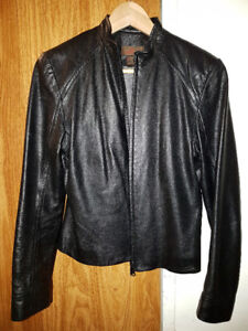 ***DKNY Leather Jacket - Size 4 - 6***