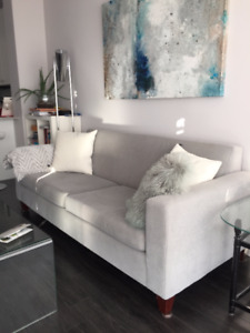 FREE COUCH - As is - Must pick up