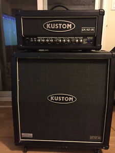 100W Kustom Head and 4x12 Cab (open to trades)