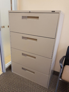 4 Drawer Lateral Filing Cabinet $150 OBO