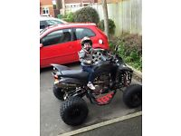 Quadzilla 500 road legal quad raptor 2014 swap