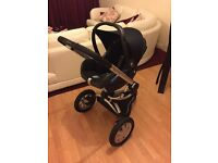 Maxi Cosi Cabriofix infant carrier with Quinny Buzz 3 Pushchair stroller with adapters cost £470 new