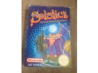Solstice: The Quest for the staff of demnos. Nes game