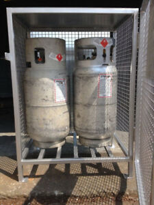 Propane tank/cylinders storage cabinets for sale!