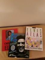 3 Elvis books in excellent condition