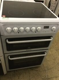 Hotpoint Creda Electric Cooker 60cm wide ceramic hobs