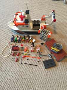 Playmobil Diving Boat and Crew