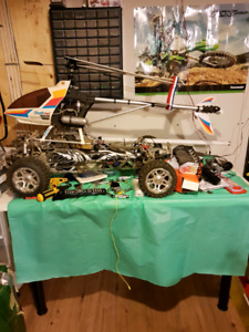 Rc big scale toy! Helicoptere + dune bogue