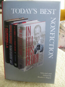 BEAUTIFULLY BOUND READERS' DIGEST 4 BEST NONFICTION SELECTIONS