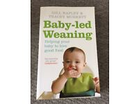 Baby-led weaning book - like new