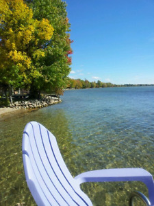Cottage Guesthouse Rental on Lake Simcoe SANDY BEACH
