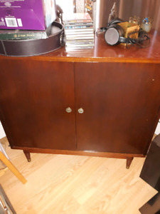 REDUCED Vintage Vinyl Record Storage Cabinet