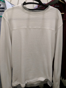 Selling several sweaters and long sleeve shirts for men